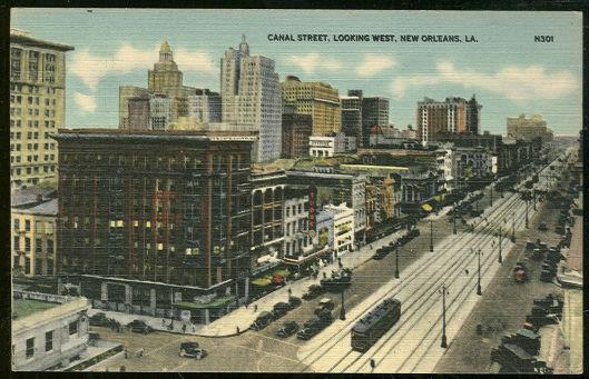 Image for CANAL STREET, LOOKING WEST, NEW ORLEANS, LOUISIANA