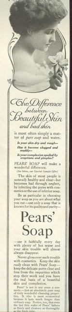 1915 LADIES HOME JOURNAL PEAR'S SOAP MAGAZINE ADVERTISEMENT, Advertisement