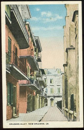 Image for ORLEANS ALLEY, NEW ORLEANS, LOUISIANA