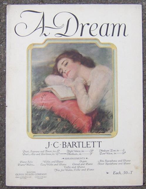 DREAM, Sheet Music
