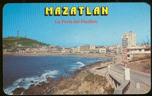 MAZATLAN, LA PERLA DEL PACIFICO, MEXICO, Postcard