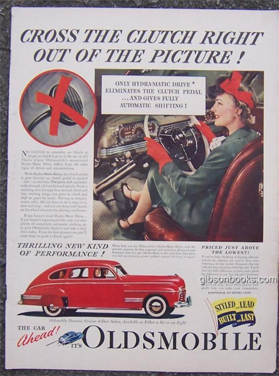 1941 OLDSMOBILE AUTOMOBILE LIFE MAGAZINE ADVERTISEMENT, Advertisement
