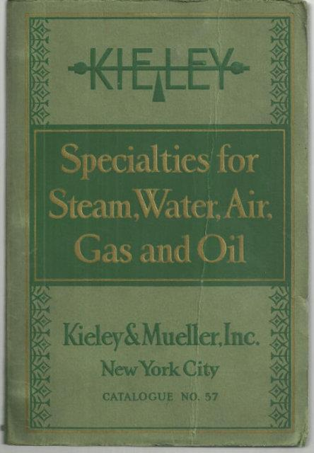 Image for SPECIALTIES FOR STEAM, WATER, AIR, GAS AND OIL FOR POWER PLANTS, PLUMBING AND HEATING SYSTEMS, GAS AND OIL FIELD INSTALLATIONS Catalog 37