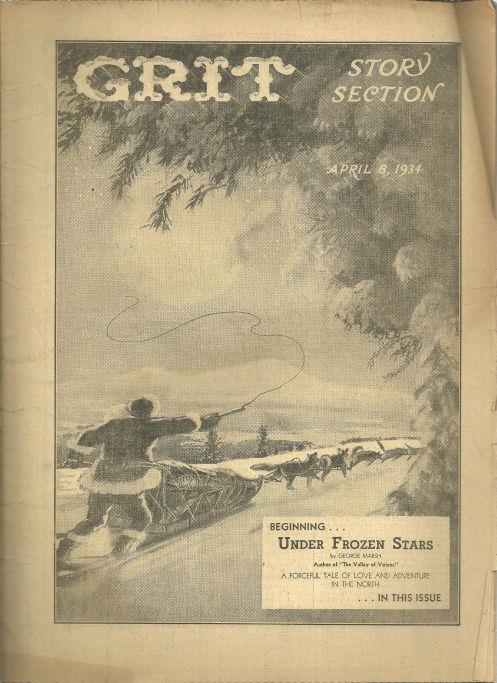 GRIT STORY SECTION APRIL 8, 1934, Grit