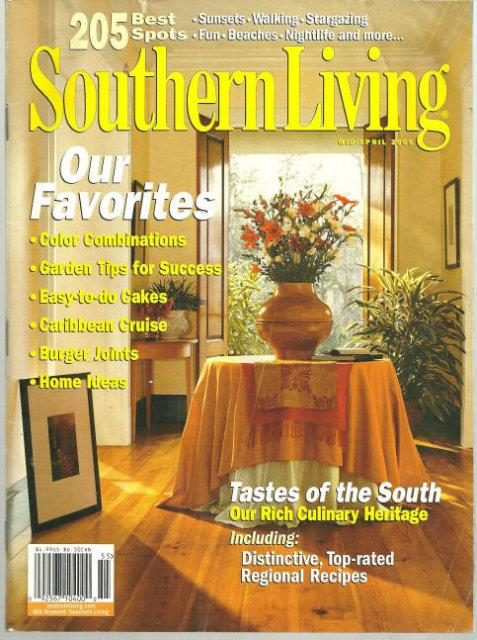 SOUTHERN LIVING FAVORITES MAGAZINE MID-APRIL 2005, Southern Living