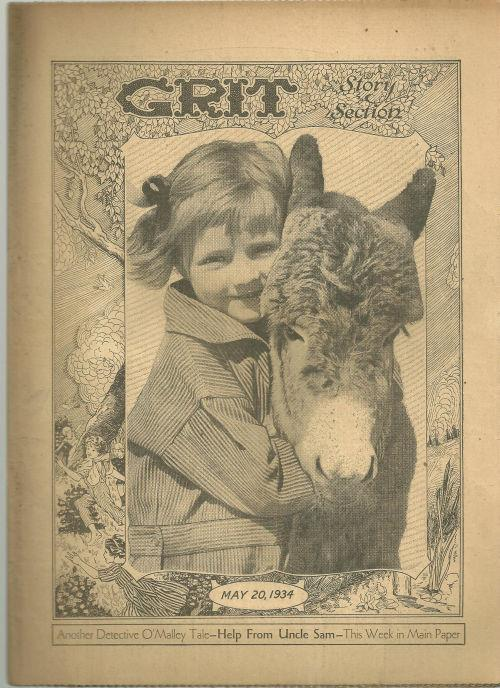 GRIT STORY SECTION MAY 20, 1934, Grit