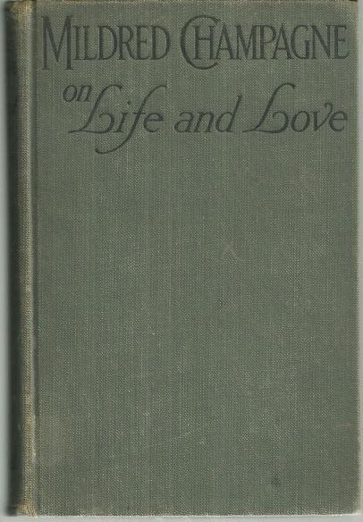 Image for MILDRED CHAMPAGNE ON LIFE AND LOVE