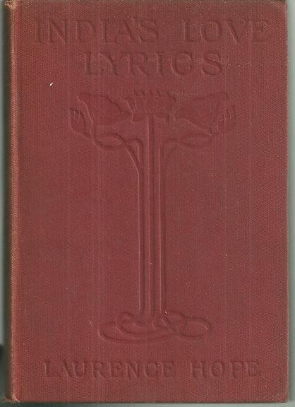 INDIA'S LOVE LYRICS, Hope, Laurence