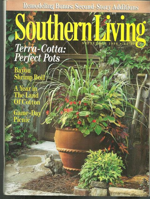SOUTHERN LIVING MAGAZINE SEPTEMBER 1996, Southern Living