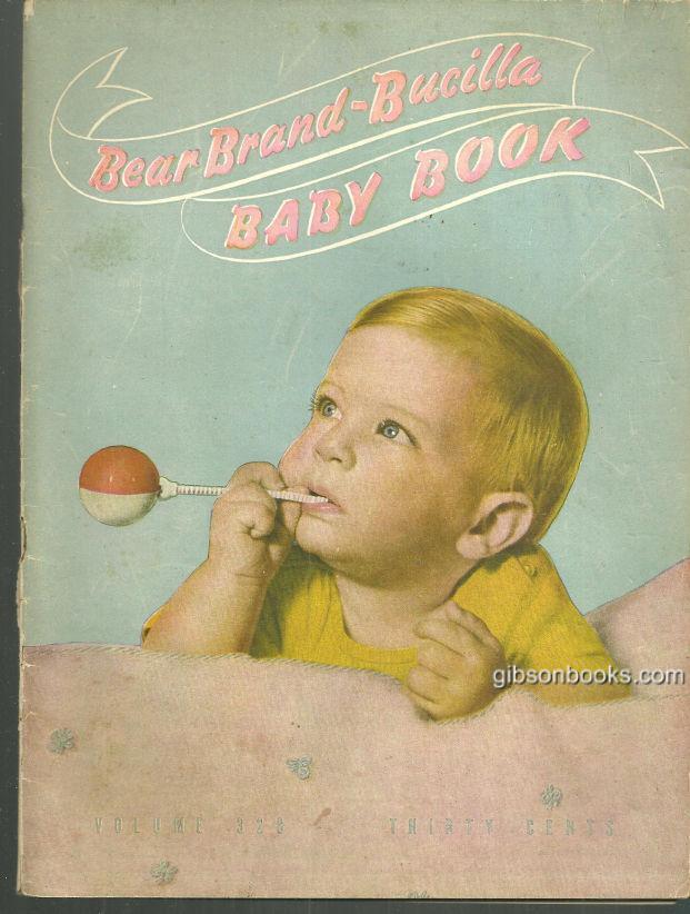 BEAR BRAND BUCILLA BABY BOOK, Bucilla