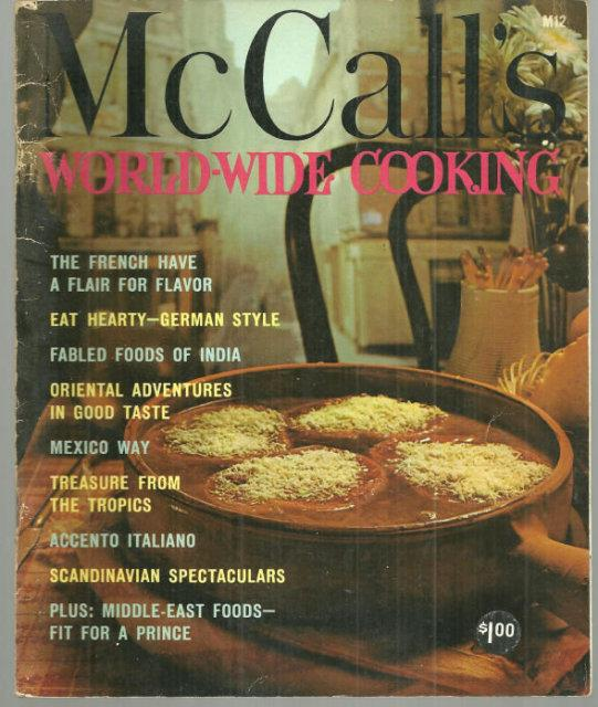 WORLD WIDE COOKING, Food editors Of McCall's