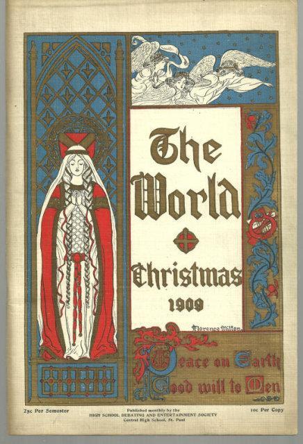 WORLD CHRISTMAS 1909, High School Debating and Entertainment Society