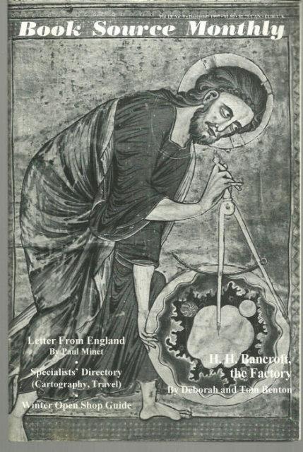 HUCKANS, JOHN - Book Source Monthly Magazine December 1997
