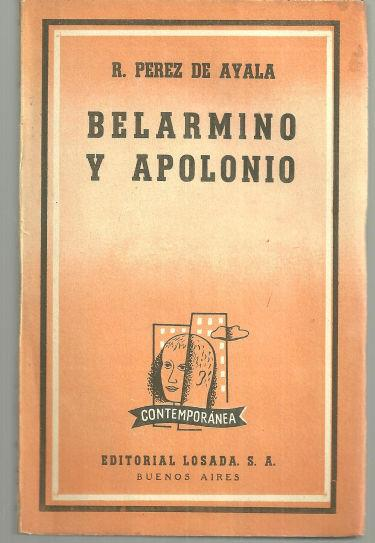 Image for BELARMINO Y APOLONIO