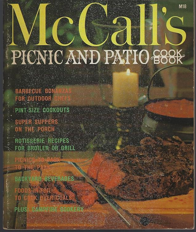 PICNIC AND PATIO COOKBOOK, Food editors Of McCall's