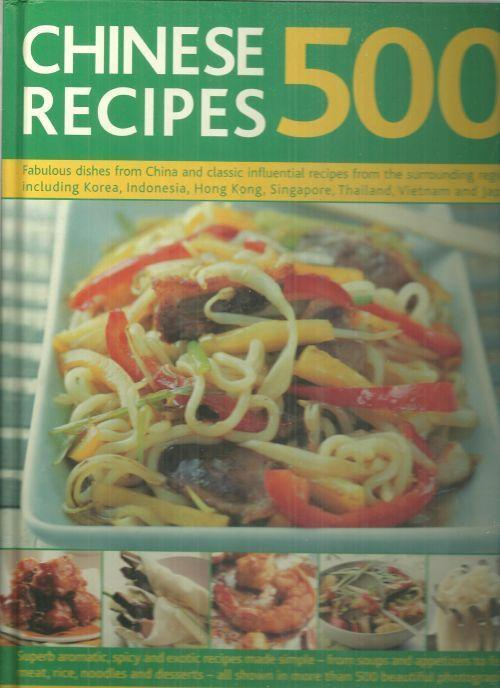 Image for 500 CHINESE RECIPES