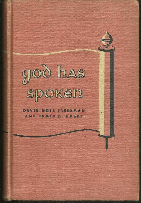Image for GOD HAS SPOKEN An Introduction to the Old Testament for Young People