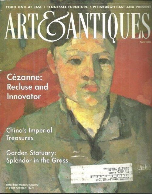 Image for ART AND ANTIQUES MAGAZINE APRIL 1986