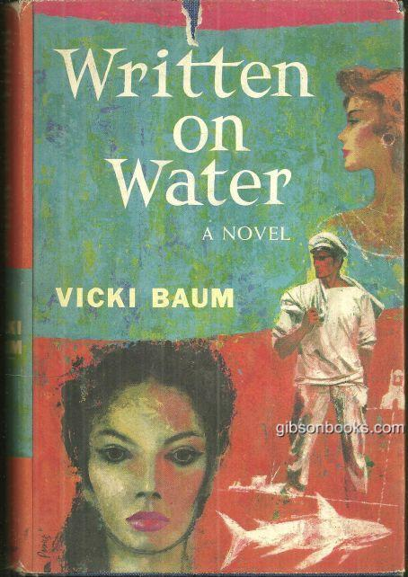 WRITTEN ON WATER, Baum, Vicki