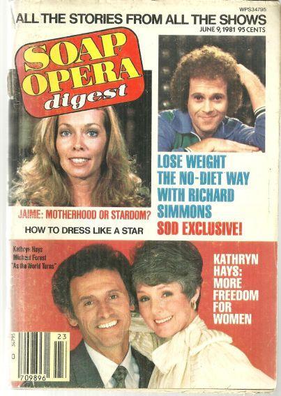 SOAP OPERA DIGEST JUNE 9, 1981, Soap Opera Digest