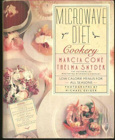 MICROWAVE DIET COOKERY Low Calorie Menus for all Seasons, Cone, Marcia