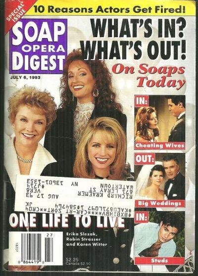 SOAP OPERA DIGEST - Soap Opera Digest July 6, 1993
