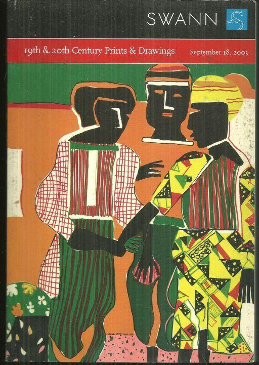 19TH & 20TH CENTURY PRINTS & DRAWINGS, SALE 1976, SEPTEMBER 18, 2003, Swann Galleries