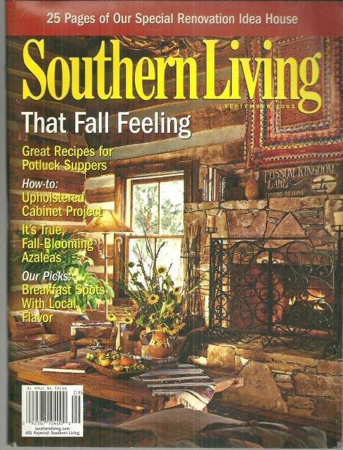 SOUTHERN LIVING - Southern Living Magazine September 2002
