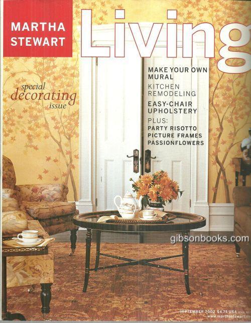Image for MARTHA STEWART LIVING MAGAZINE SEPTEMBER 2002