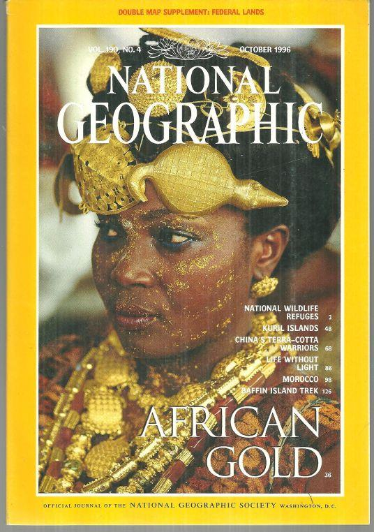 NATIONAL GEOGRAPHIC MAGAZINE OCTOBER 1996, National Geographic