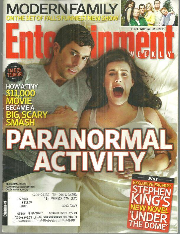 Image for ENTERTAINMENT WEEKLY MAGAZINE NOVEMBER 6, 2009