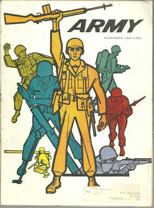 Image for ARMY MAGAZINE NOVEMBER 1961