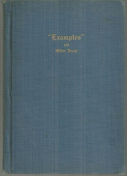 EXAMPLES AND OTHER VERSE, Huntington, P. C.