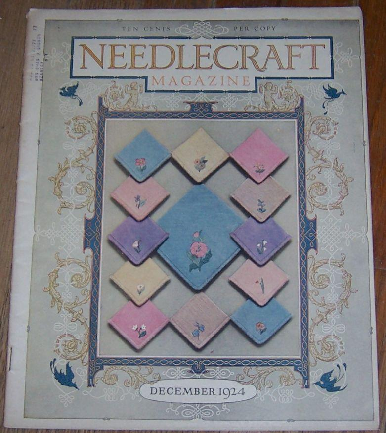 Image for NEEDLECRAFT MAGAZINE DECEMBER 1924
