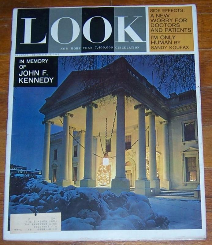 LOOK MAGAZINE DECEMBER 31, 1963, Look Magazine