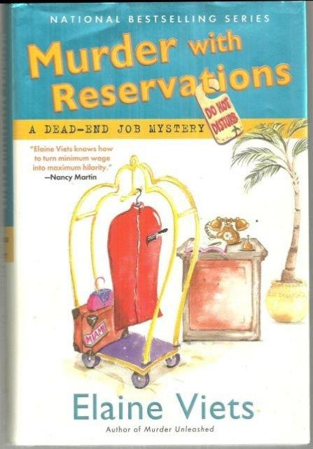 MURDER WITH RESERVATIONS, Viets, Elaine