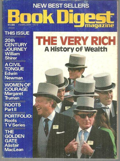 BOOK DIGEST MAGAZINE FEBRUARY 1977, Book Digest