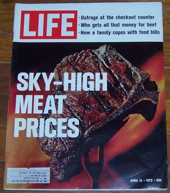 LIFE MAGAZINE APRIL 14, 1972, Life Magazine
