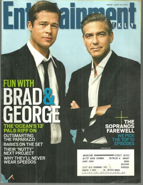 Image for ENTERTAINMENT WEEKLY MAGAZINE JUNE 15, 2007