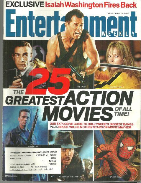Image for ENTERTAINMENT WEEKLY MAGAZINE JUNE 22, 2007