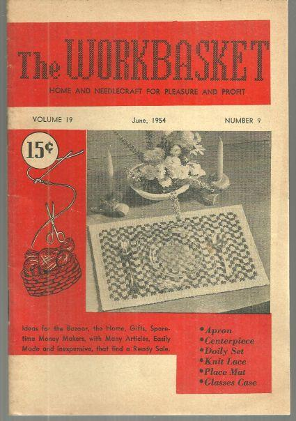 Image for WORKBASKET JUNE 1954 Home and Needlecraft for Pleasure and Profit