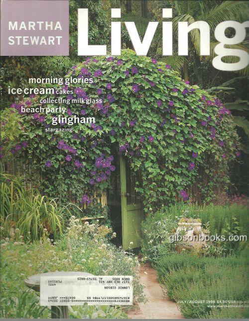 Image for MARTHA STEWART LIVING MAGAZINE JULY/AUGUST 1998