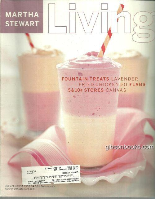 Image for MARTHA STEWART LIVING MAGAZINE JULY/AUGUST 1999