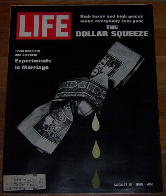 LIFE MAGAZINE AUGUST 15, 1969, Life Magazine