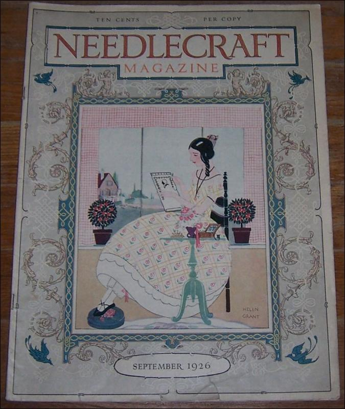 Image for NEEDLECRAFT MAGAZINE SEPTEMBER 1926