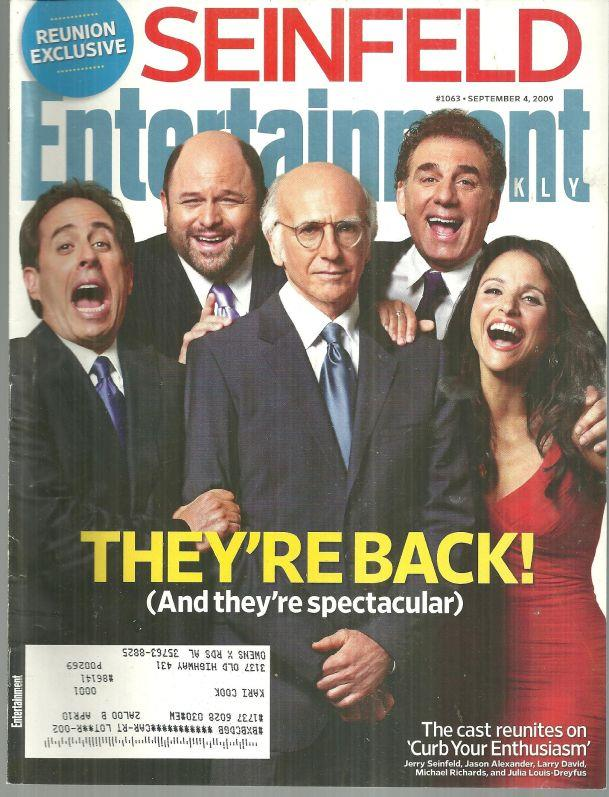 Image for ENTERTAINMENT WEEKLY MAGAZINE SEPTEMBER 4, 2009
