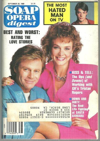 SOAP OPERA DIGEST SEPTEMBER 20, 1988, Soap Opera Digest