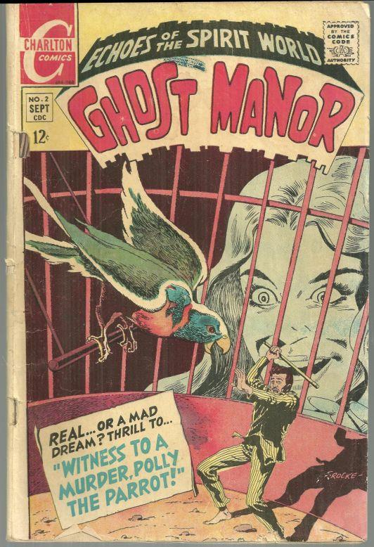 Image for GHOST MANOR COMIC SEPTEMBER 1968 Echoes of the Spirit World