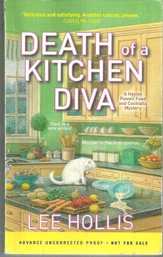 DEATH OF A KITCHEN DIVA, Hollis, Lee