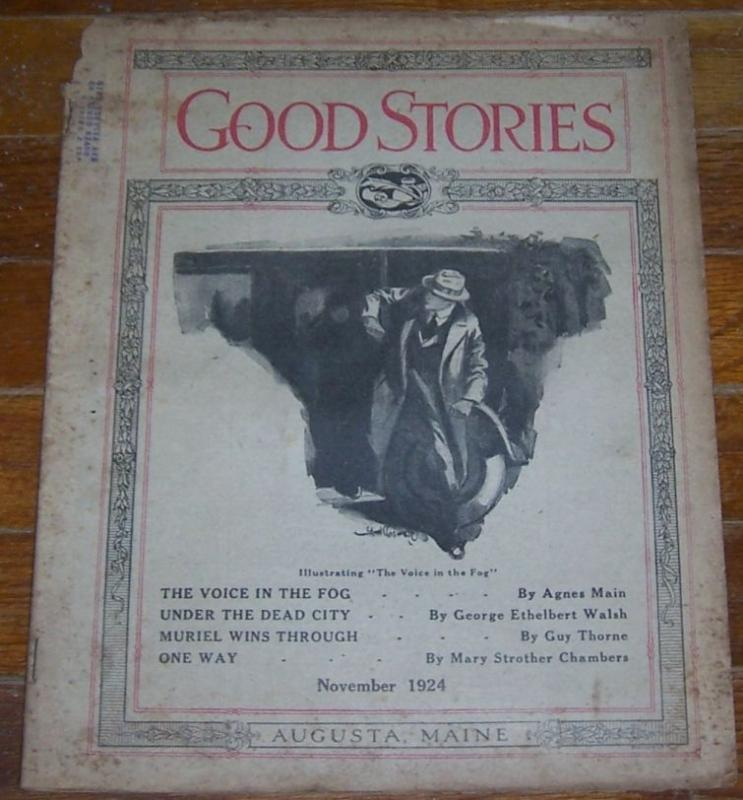 GOOD STORIES MAGAZINE NOVEMBER 1924, Good Stories